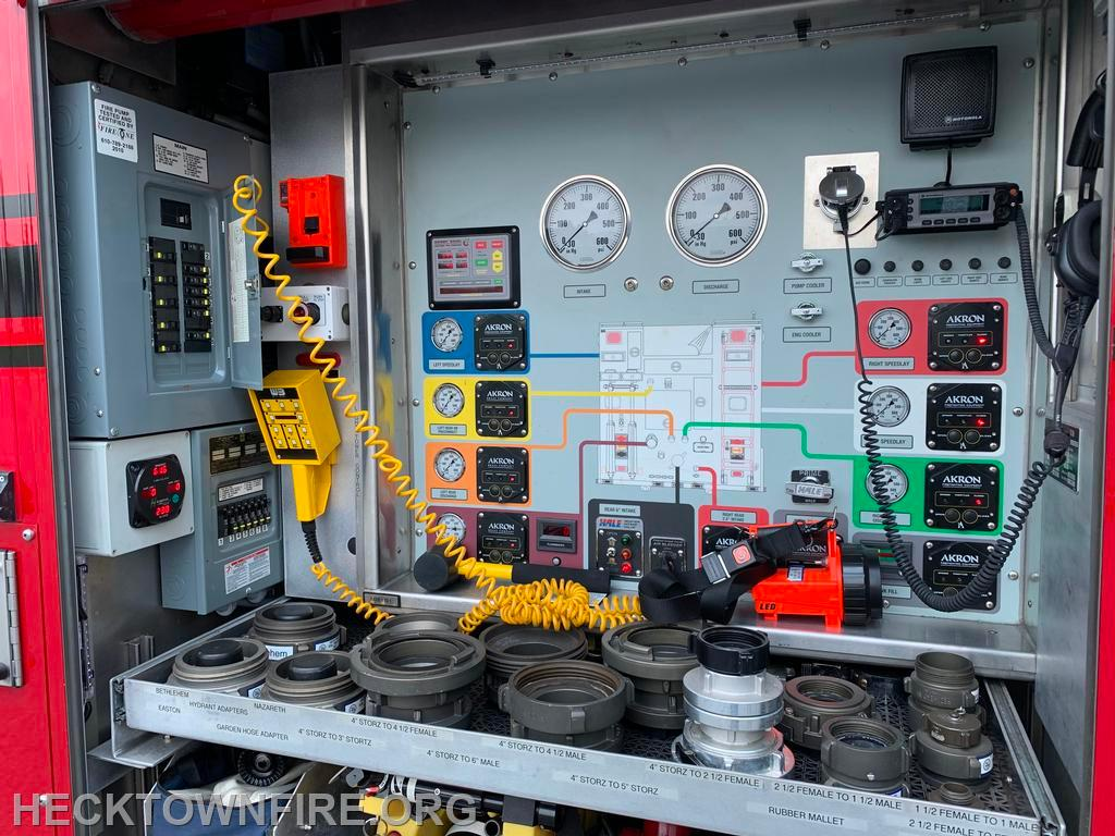 Powered Pump & Electrical Panel